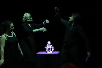 Improbotics cast at Global Improvisation Initiative Symposium 2019 (c) Bronwen Sharp