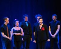 Jenny Elfving and Improbotics cast at Improfest Sweden Göteborg 2019. Credits: Björn Nilsson.
