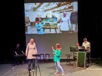 Rosetta Code by Improbotics at The Cockpit Theatre, Camden Fringe 2021 - Photo by Erika Hughes