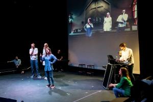 Rosetta Code by Improbotics at The Cockpit Theatre, Camden Fringe 2021 - Photo by Lidia Crisafulli
